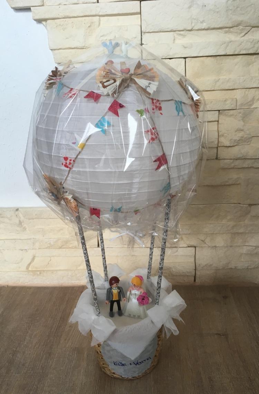 Ballon Geldgeschenk Hochzeit